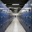 Lockers alley — Stock Photo