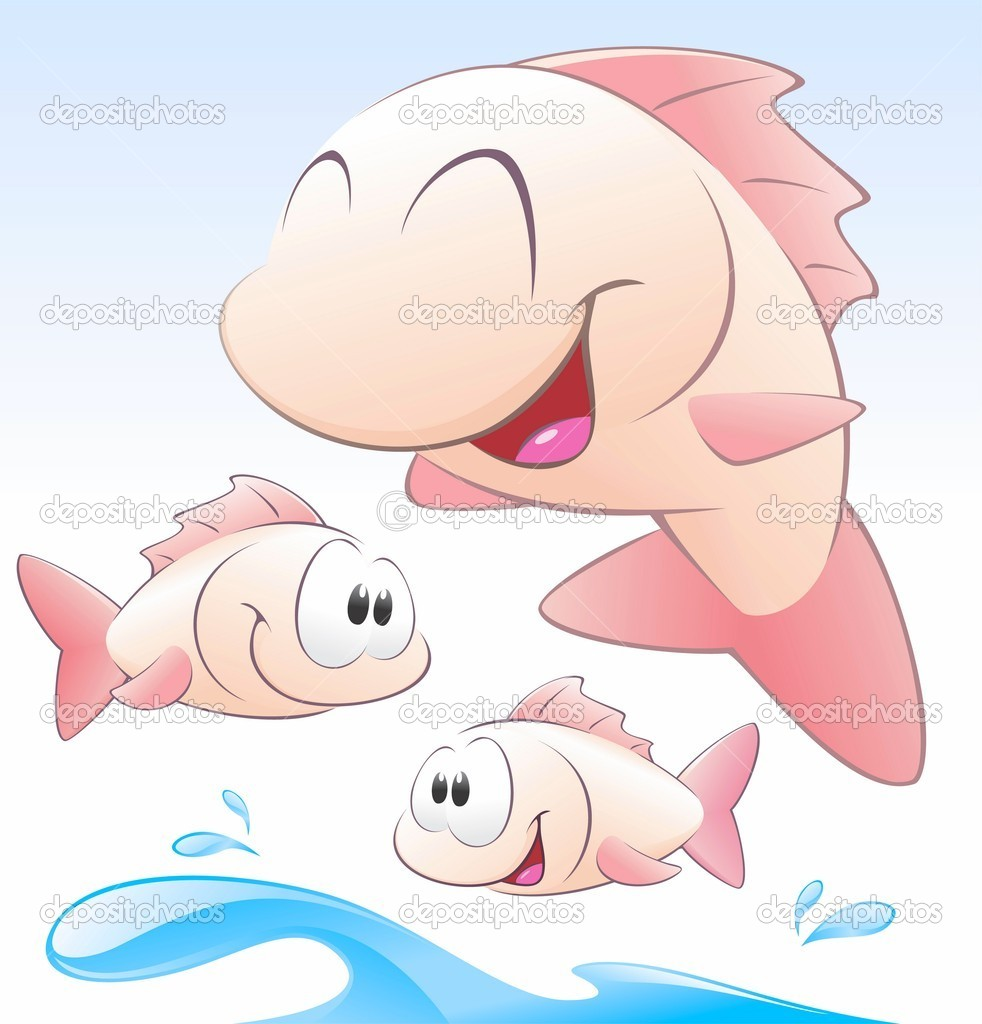 Cute Cartoon Fish Set of cute cartoon fishes