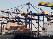 Ship at the Dock — Stock Photo