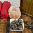 Stock Photo: Spa concept with stones