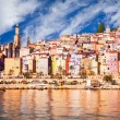 Provence village Menton scenic view — Stock Photo