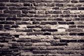 Vintage old textured brick wall — Stock Photo