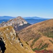 Stock Photo: Slovak mountains trekking in MalFatra