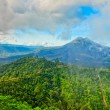 Volcano mount Gunung Batur, Kintamani, Bali — Stock Photo