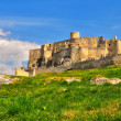 Castle Spissky hrad in Slovakia - Stock Photo