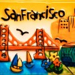 Stock Photo: SFrancisco colorful ceramic painting
