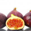 Royalty-Free Stock Photo: Fig isolated on a white