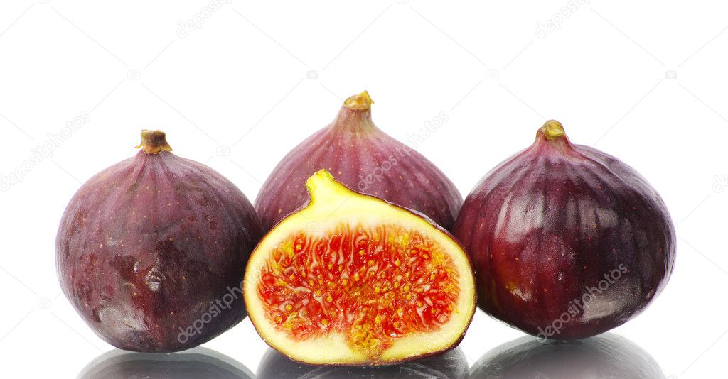 Fig isolated on a white — Stock Photo #9356222