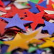 Colored stars background - Stockfoto