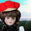 Black forest girl — Stock Photo