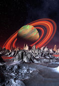Fantasy Planet — Stock Photo