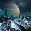 Stock Photo: Alien Planet