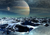 Alien Planet — Stock Photo