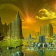 Alien Planet Ethernia - Stock Photo