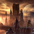 Alien City — Stock Photo #8180327