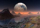 Främmande planet — Stockfoto