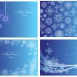 Christmas cards — Stock Vector