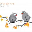 Vector birds — Vector de stock #8868551