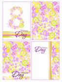 Flowers background — Wektor stockowy