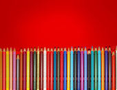 Colorful pencils — Stock fotografie