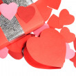 Valentines Day love gift — Stock Photo
