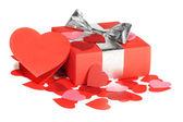 Valentinstag liebe geschenk — Stockfoto