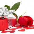 Royalty-Free Stock Photo: Valentines Day gift