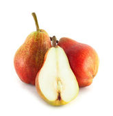 Colorful pears — Stock Photo