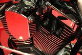 摩托车发动机 — 图库照片