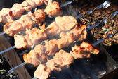 Cocina shashlik — Foto de Stock