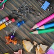 Royalty-Free Stock Photo: School items