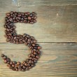 Coffee number five — Stock Photo