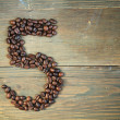 Coffee number five — Stock Photo #9375818