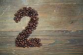 Káva číslo dvě — Stock fotografie