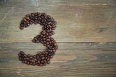 Coffee number three — Stock Photo