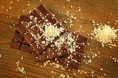 Chocolate y coco — Foto de Stock