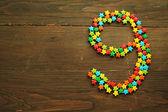 конфеты номер девять — Стоковое фото