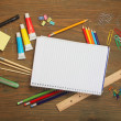 Material for school - Stock Photo