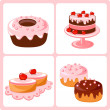 Sweet pastry - Stock Vector