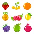 Fruits — Stock Vector