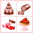 Sweets - Stock Vector