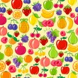 Fruit background — Stock Vector