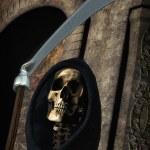 Death grim reaper — Stock Photo #8623346