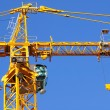 Stock Photo: Construction crane.