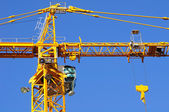 Construction crane. — Stockfoto