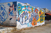 Graffiti. — Stockfoto