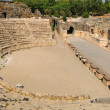 Arena and the stage of ruined amphitheater in Beit Shean. Israel. — Stock Photo #8962591