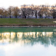 Stock Photo: Zagreb Jarun (Jarunsko Jezero) Lake in Croatia