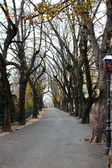 Strossmayer Promenade, Zagreb, Croatia — Stock Photo