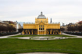 The Art Pavilion in Zagreb — Stock Photo